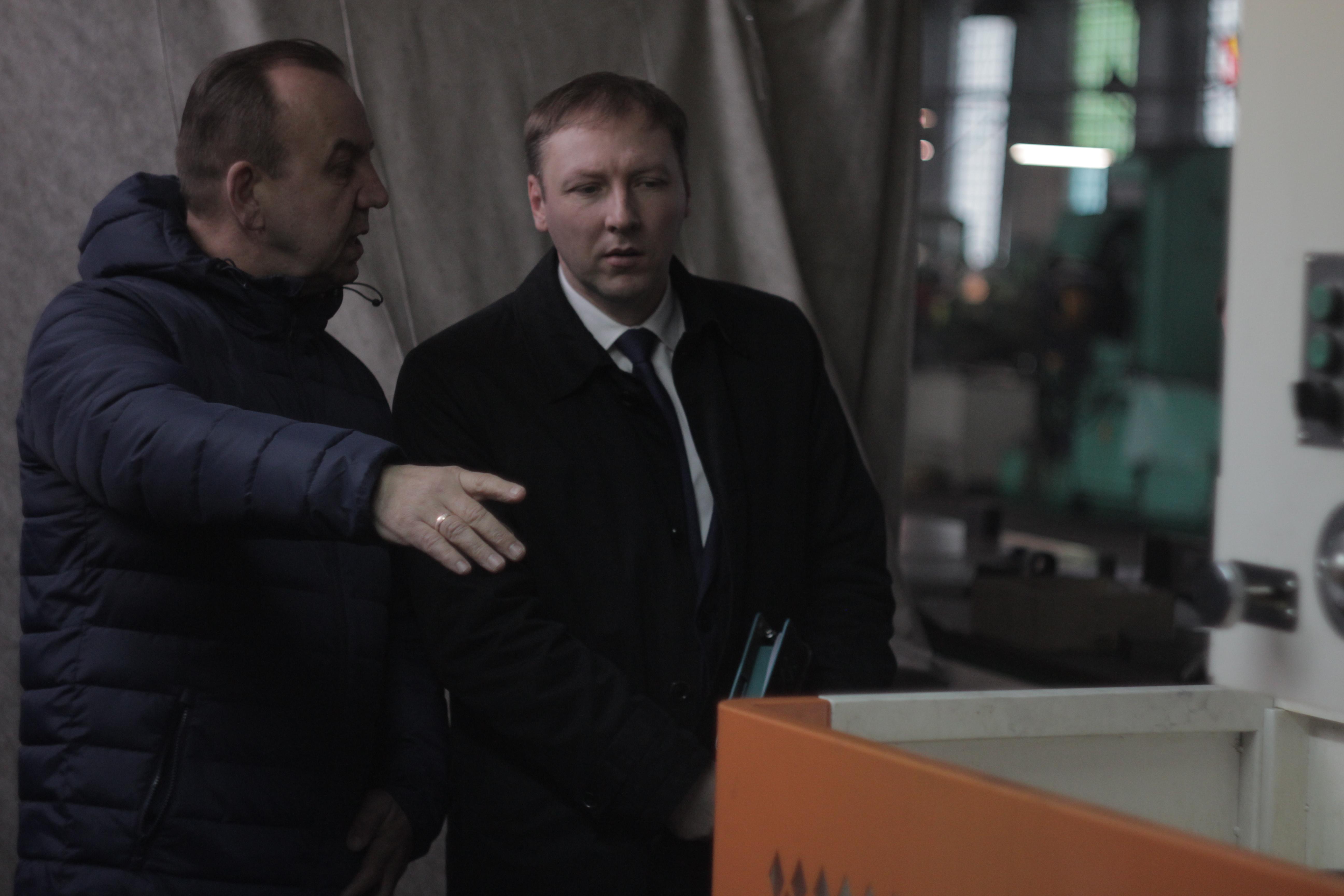 Встреча с Председателем Комитета промышленности и транспорта Курской области Колесниченко Романом Михайловичем
